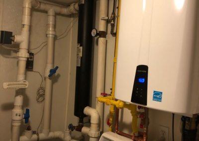 High Efficiency Hot Water Boiler